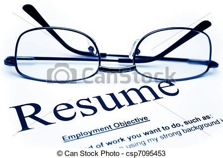 Samples of curriculum vitae or resume